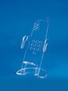 Подставка универсальная с ограничителем (ш*в*г) 55*110*30мм