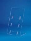 Подставка для пластиковых карт (ш*в*г) 100*190мм